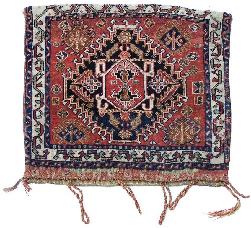 Caucasian Rugs Uk: Qashqai Bag, Sold
