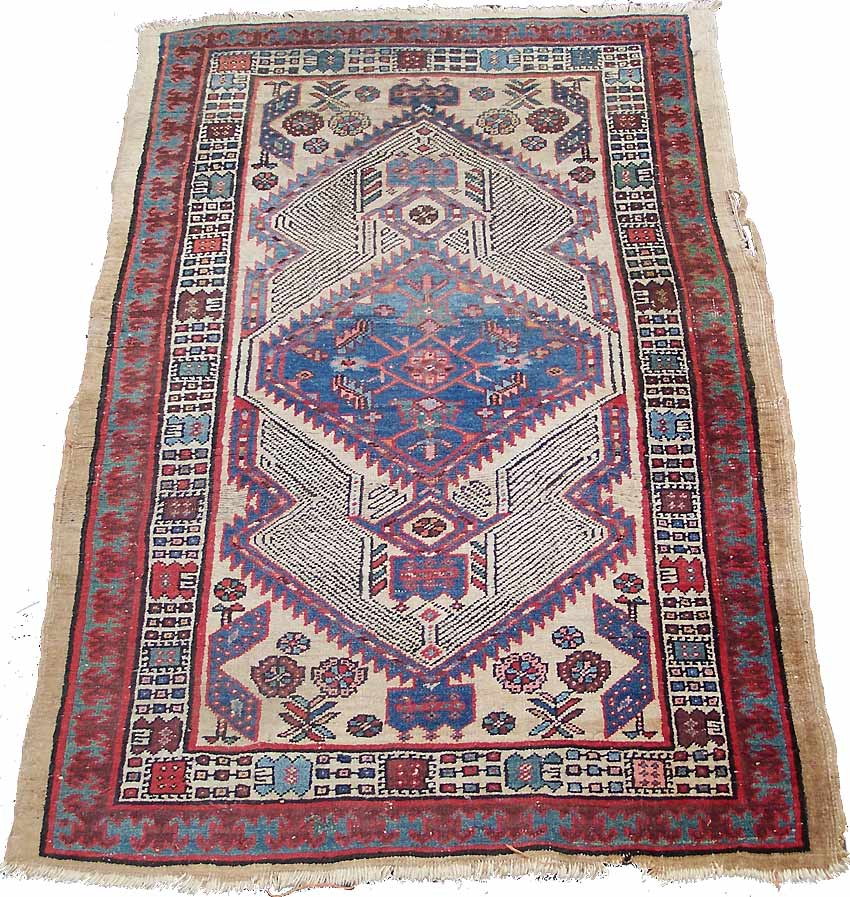 Caucasian Rugs Uk: Serapi Rug, 1920s/30s, SOLD