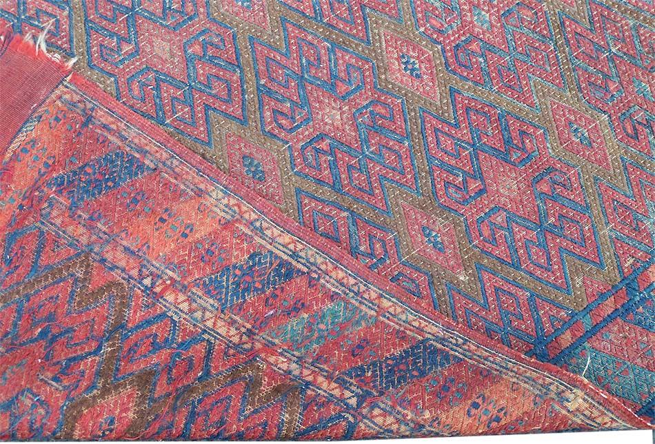 Yomut Carpet Turkmen Dyrnak Guls Oriental Rugs And Carpets